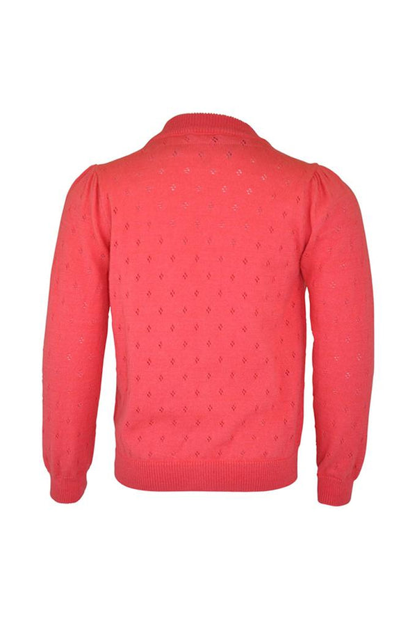 Verity: Coral cardigan