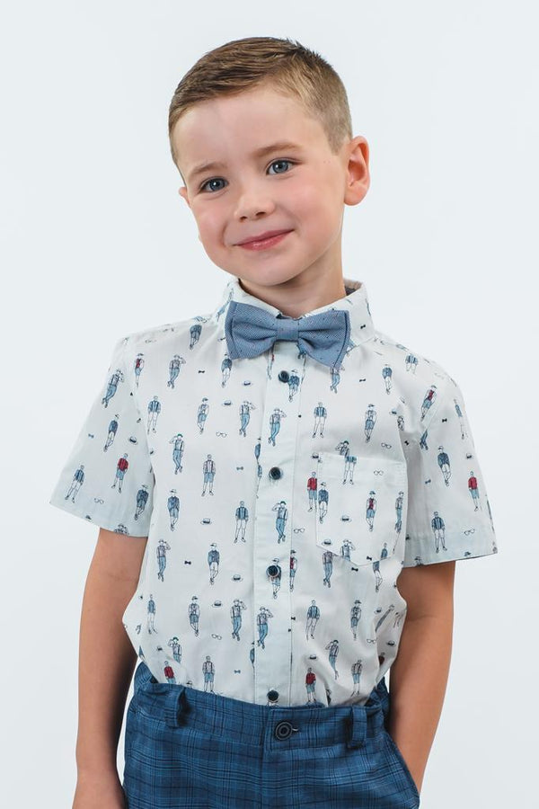 George: Gentleman shirt & bowtie