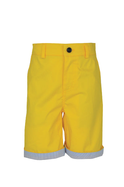 Hockney: Yellow shorts