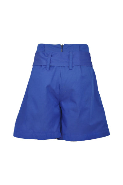 Delilah: Blue Paper Bag shorts