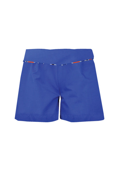 Delilah: Blue shorts