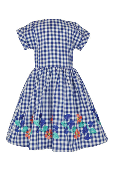Dorothy: Check dress & headband