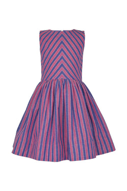 Penelope: Stripe dress & headband