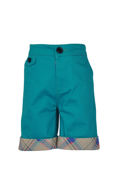 Clough : Teal shorts