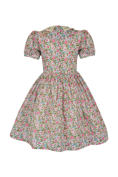 Betsy: Ditsy floral dress & headband