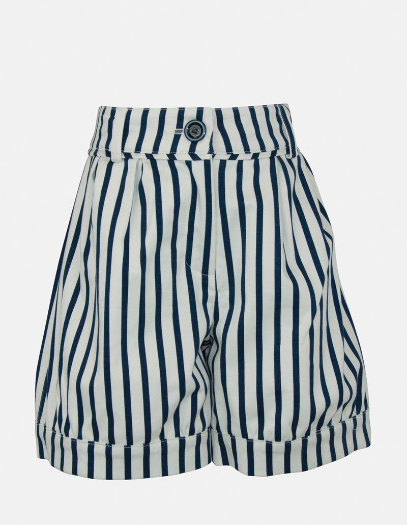 Amaya: Stripe shorts