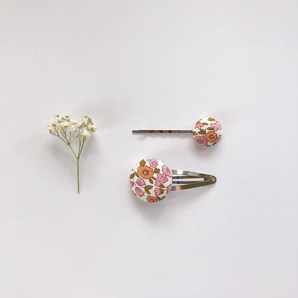 Snap Clip & Hair Pin Set