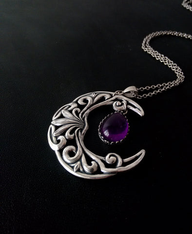 Celestial Amethyst Necklace