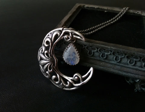 Celestial Moonstone Necklace