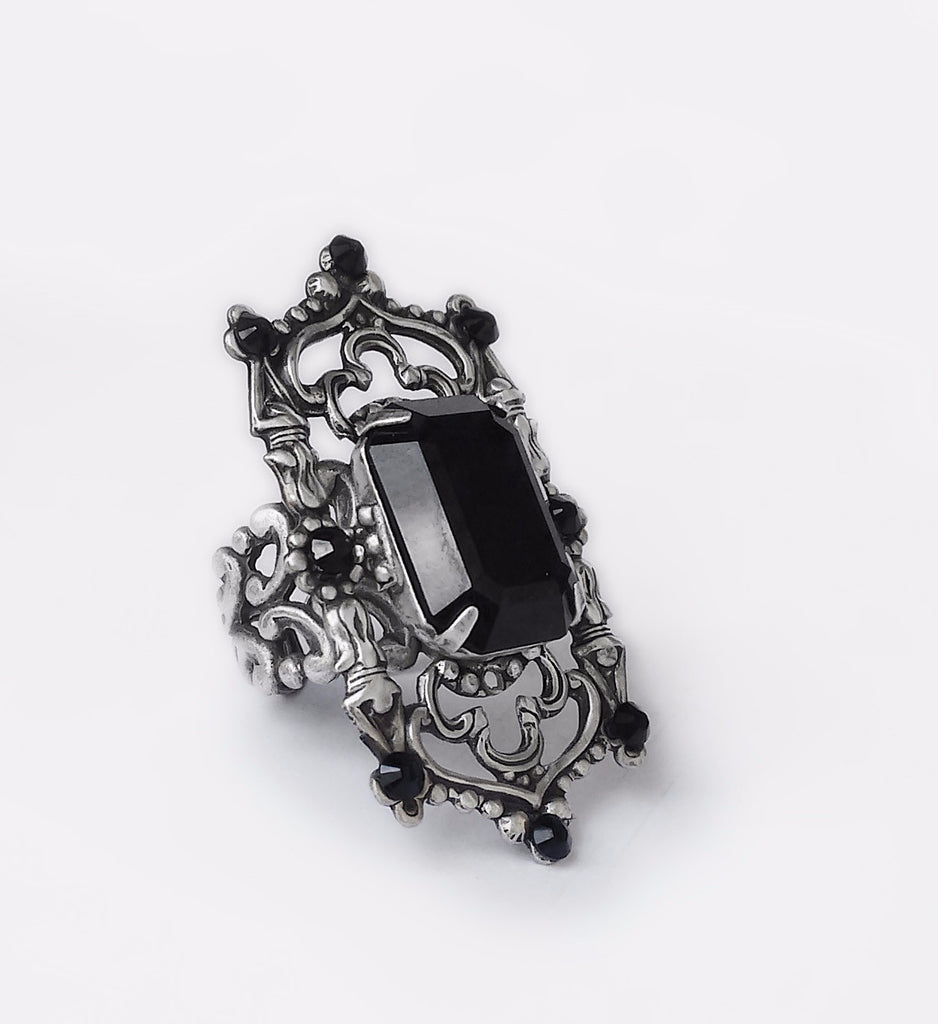 Gothic Cathedral Ring - Aranwen's Jewelry  - 1