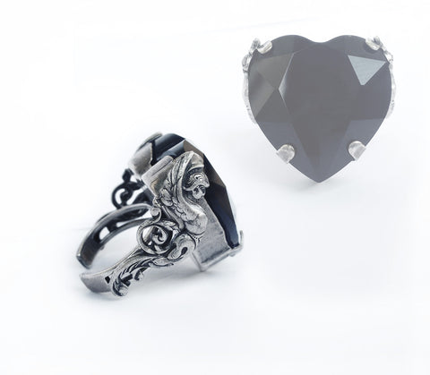 Valkyries Heart Ring - Aranwen's Jewelry  - 6