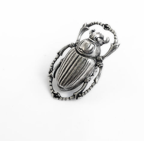 Large Scarab Ring - Aranwen's Jewelry  - 1