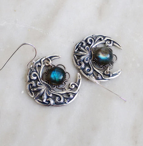 Celestial Labradorite Earrings