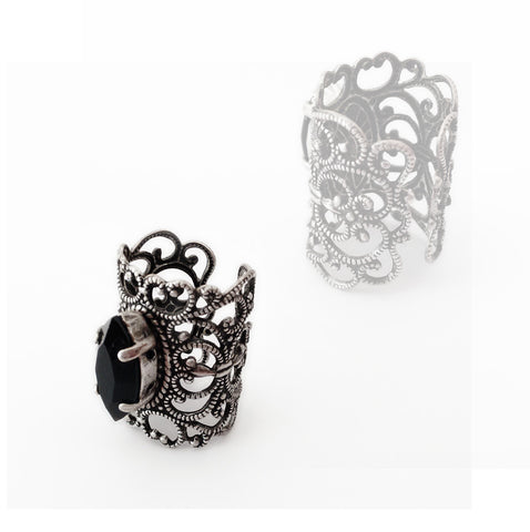 Filigree Knuckle Ring