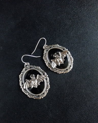 Black Halloween Earrings