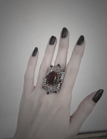 Gothic Cathedral Ring - Aranwen's Jewelry  - 4