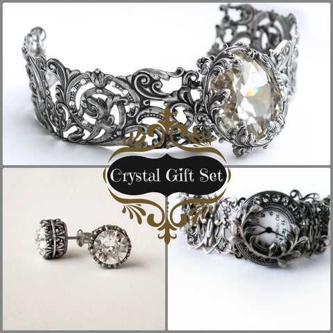 Swarovski Crystal Jewelry Gift Set