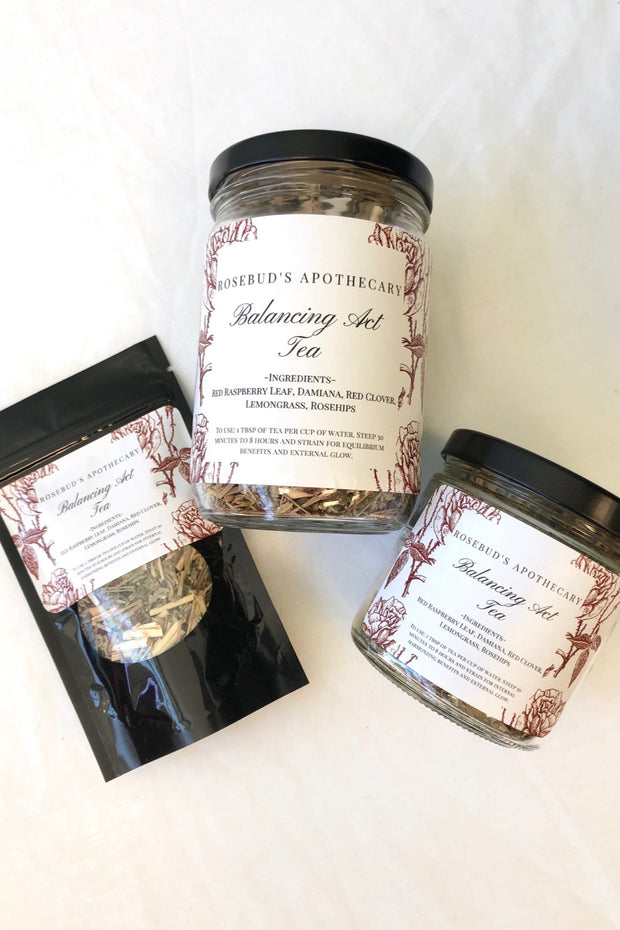 Rosebud's Apothecary Herbal Tea - Balancing Act Blend
