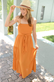 Starfish Tiered Maxi Dress