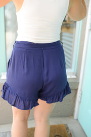 Riding the Wave Ruffle Shorts