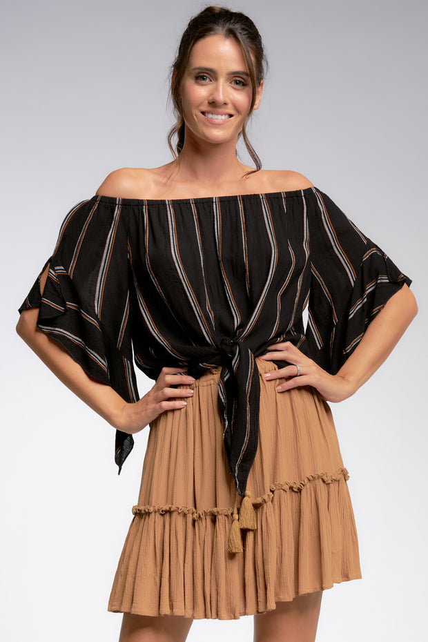 Clara Off-Shoulder Top
