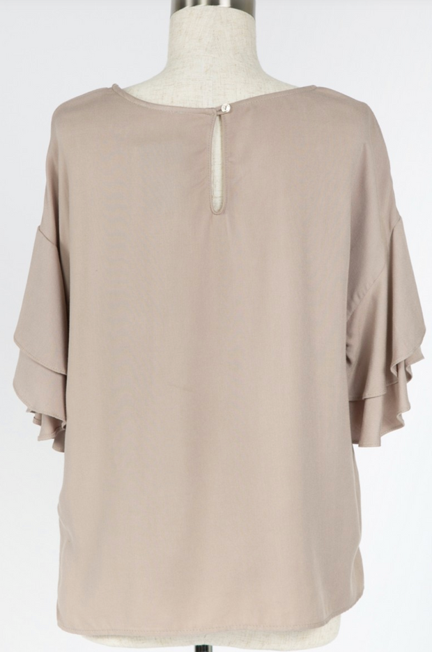 Leila Layered Sleeve Top