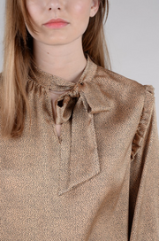 Into the Wild Bow Blouse