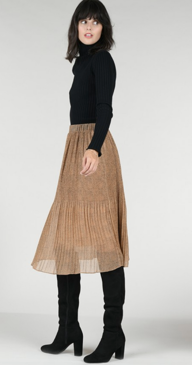Into the Wild Pleated Skirt
