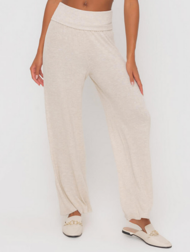 Oatmeal Honey Knit Lounge Pants