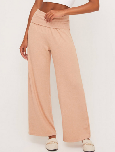 Just Peachy Knit Lounge Pants