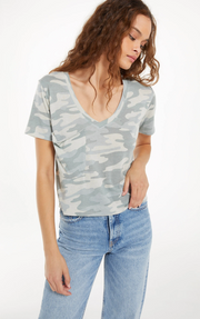 Z Supply - The Camo Classic Skimmer Tee
