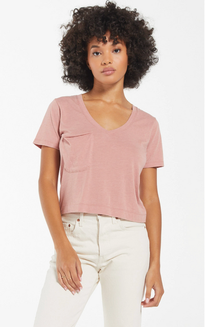 Z Supply - The Classic Skimmer Crop Tee