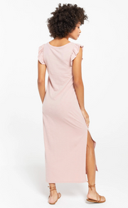 Z Supply - Blakely Slub Ruffle Dress - Pink Blossom