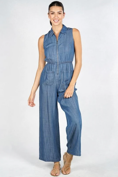 Lauren Denim Jumpsuit