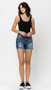 Riley High Rise Boyfriend shorts