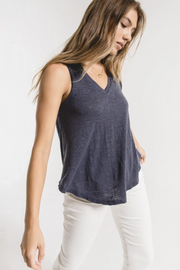 Z Supply Airy Slub Vagabond Tank - Ombre Blue