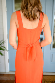 Take Me to the Tropics Linen Dress