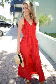 Paint it Red Maxi