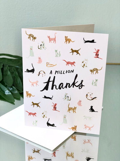 Million Thanks Card - Thank You
