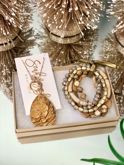 Twinkle and Tinsel Jewelry Gift Set