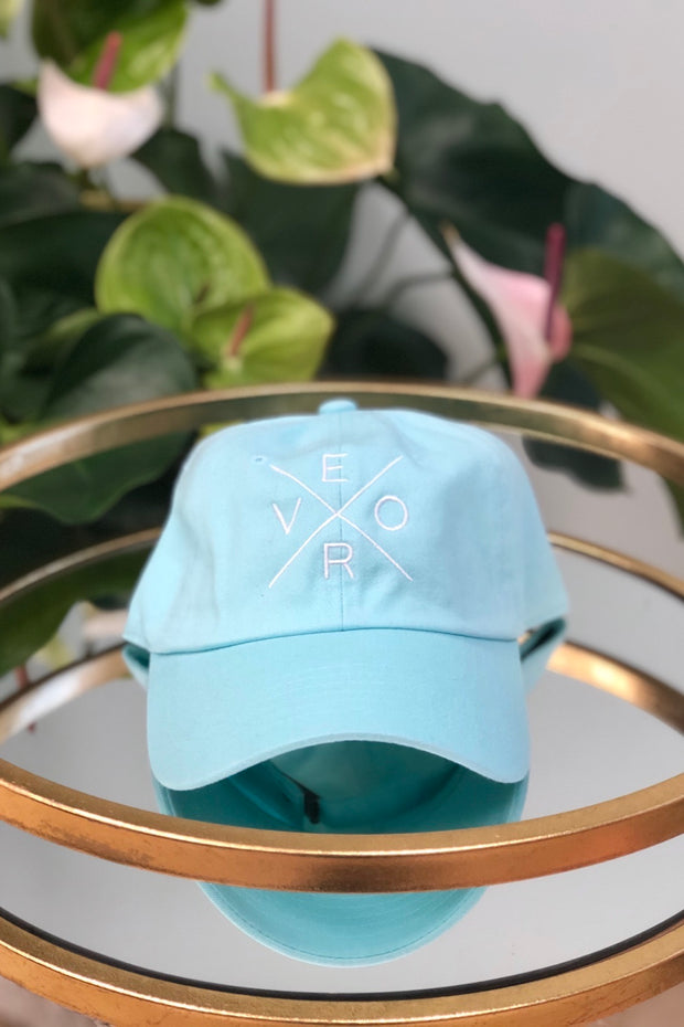 Vero Hat - Mint & White