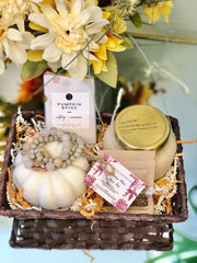 Fall Harvest Gift Basket