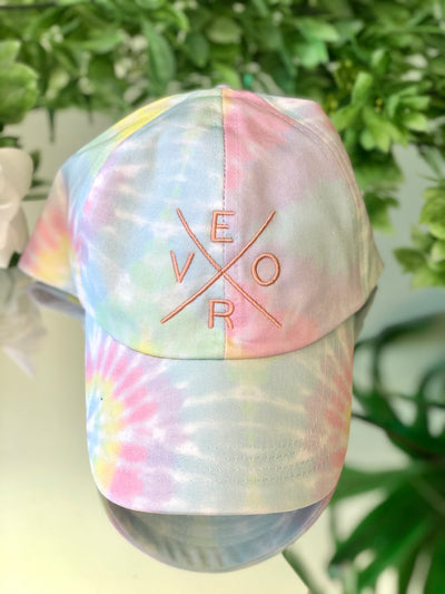 Vero Hat - Tie Dye with Peach