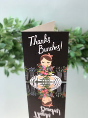 Thanks Bunches - Thank You Card