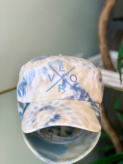 Vero Hat - Tie Dye with Blue