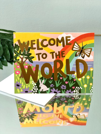 Welcome to the World Card - New Baby