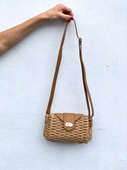 Katerina Straw Crossbody