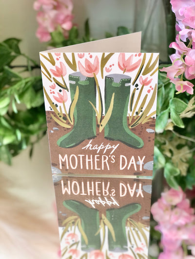 Earthy Vibes - Mother's Day Card