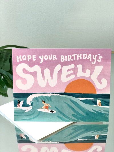 Swell Birthday Card - Birthday