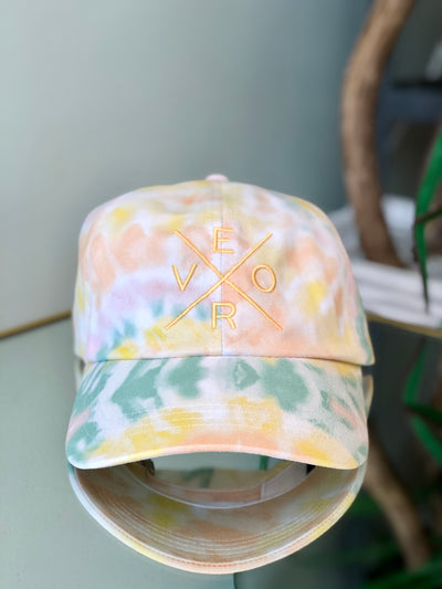 Vero Hat - Tie Dye with Yellow